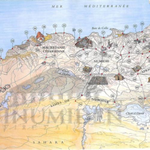93 sites antiques de l'Afrique du nord