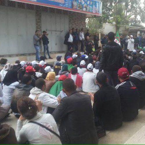 Bloqués à Boudouaou, les contractuels sont en grève de la faim