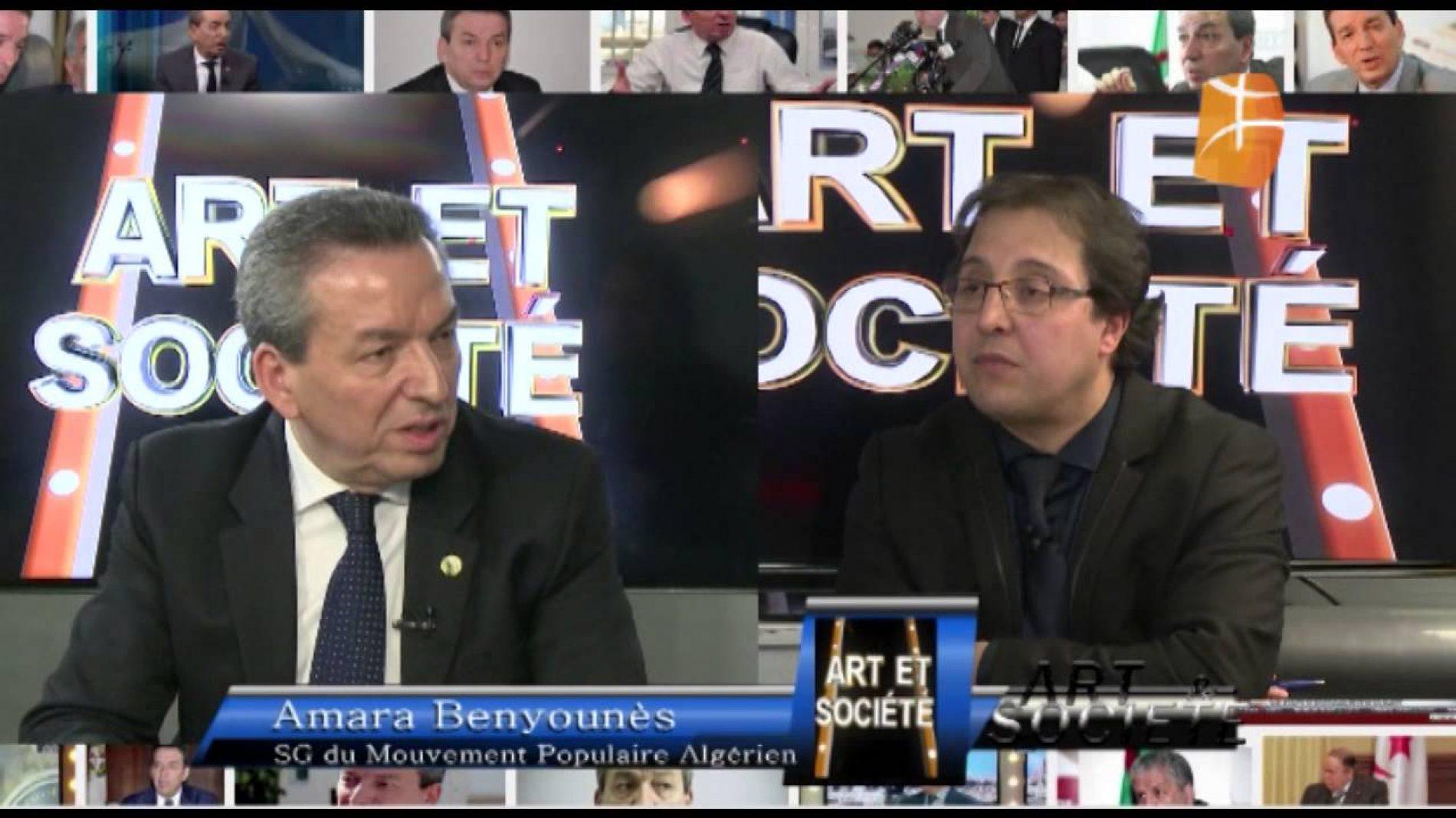 Extrait du passage de Amara Benyounes sur le plateau de Berbère Télévision, où il a parlé de Bouteflika, Matoub, Ferhat…