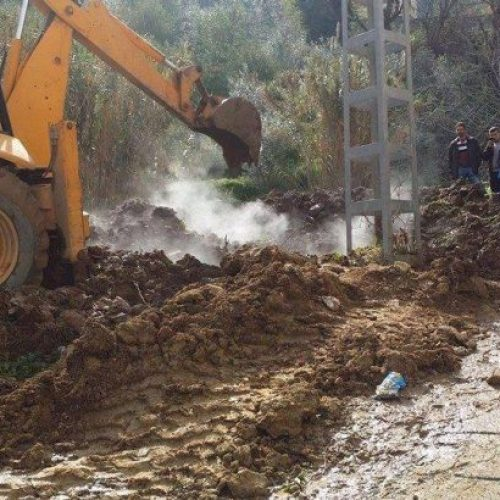 Tizi-Ouzou: La terre dégage de la fumée à Tizi Rached