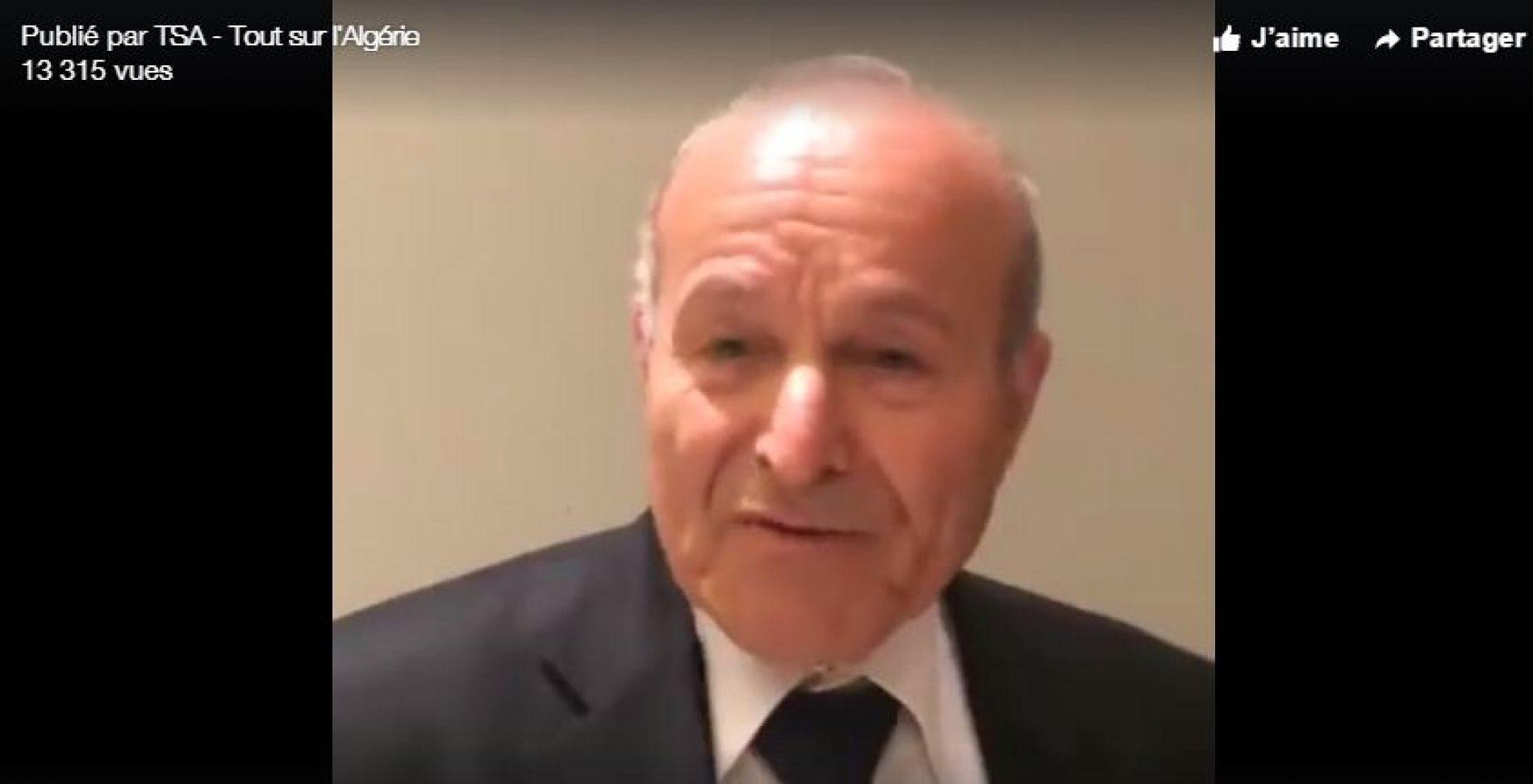 VIDÉO. Issad Rebrab : « On n'a qu'une seule patrie, c'est l'Algérie »