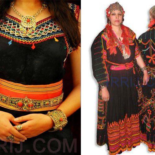 La légende de la robe kabyle de la région de Ath l'ksar