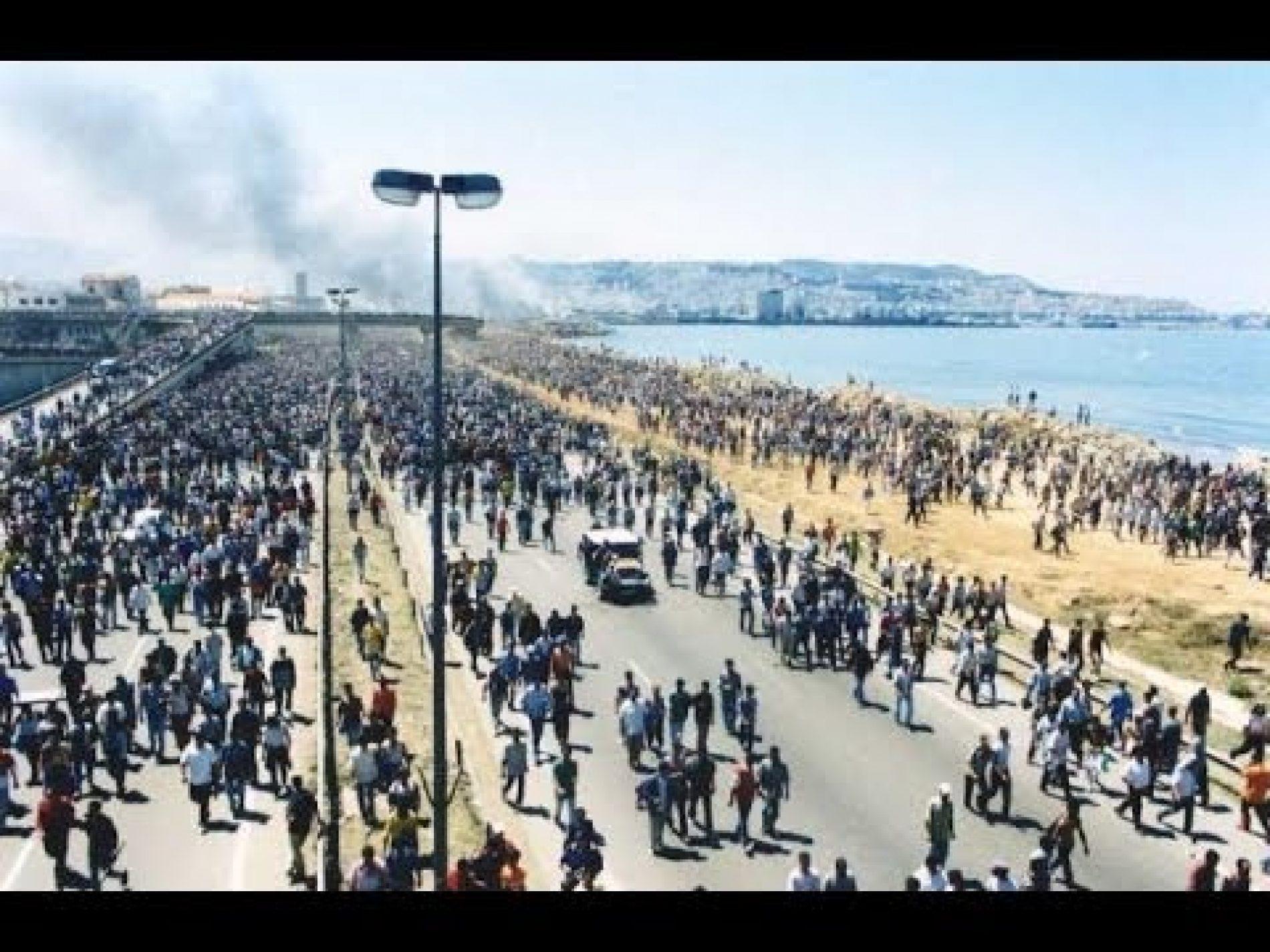 14 JUIN 2001 : LA « MARCHE NOIRE »