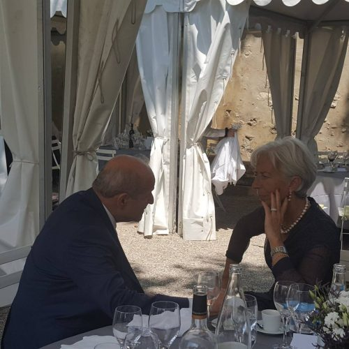 Tête-à-tête Issad Rebrab-Christine Lagarde (Directrice du FMI)